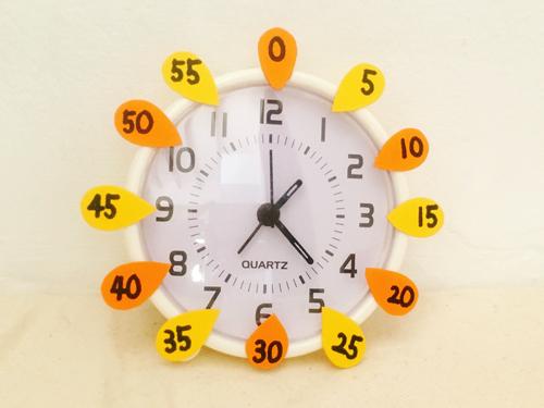 無料でできる時計の読み方の教え方