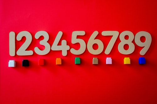 並んだ数字
