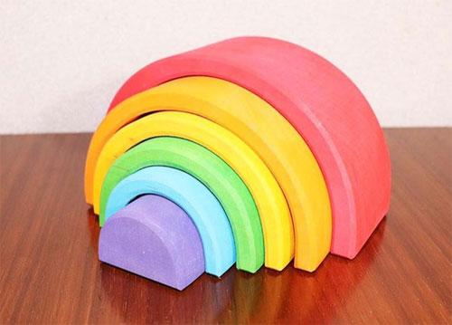 トイボックスのおもちゃアーチレインボー